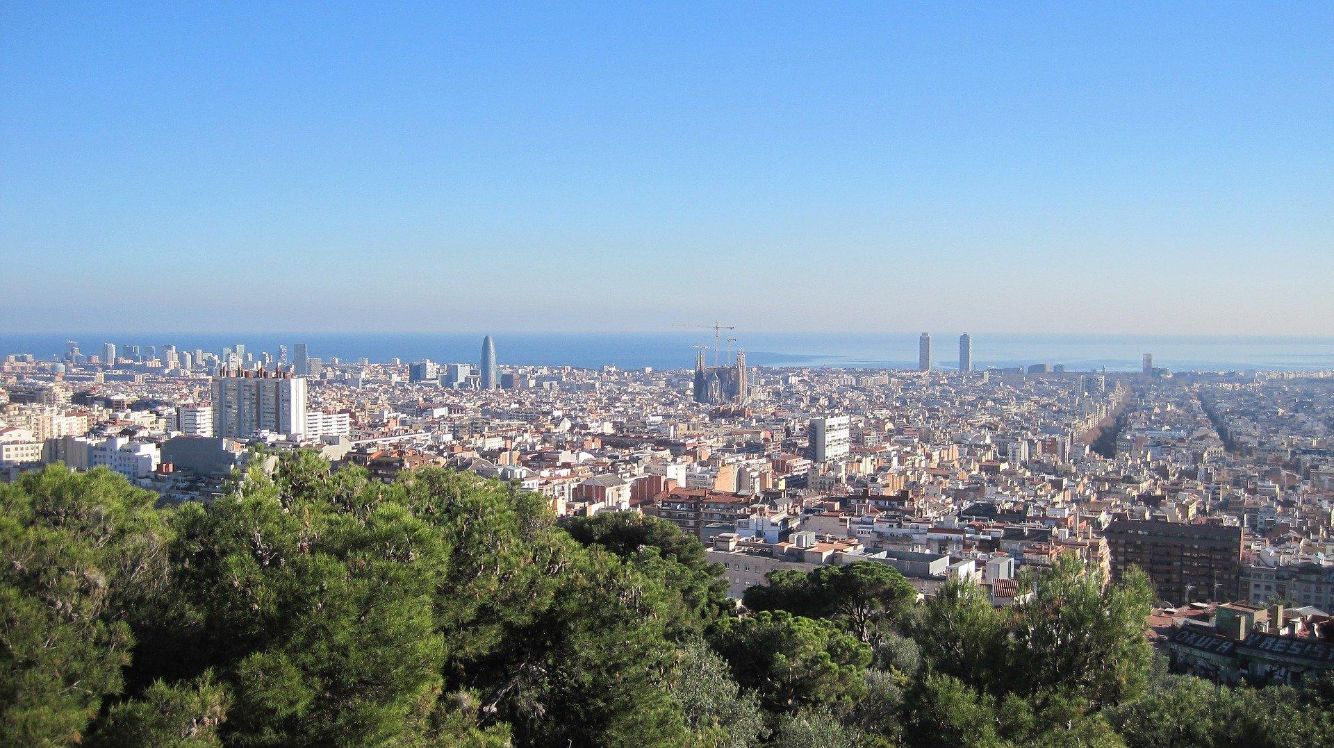point-de-vue-parc-güell-Barcelona